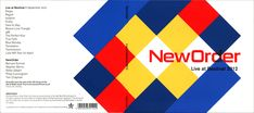 "Album cover by the English graphic designer Peter Saville. ""New Order: Live at…"