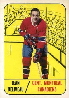 jean beliveau hockey cards | 1967 Topps Jean Beliveau #74 Hockey Card Montreal Canadiens, Hockey Teams, Ice Hockey, Hockey Cards, Baseball Cards, One Piece Photos, Bobby Orr, Trading Card Database, Trading Cards