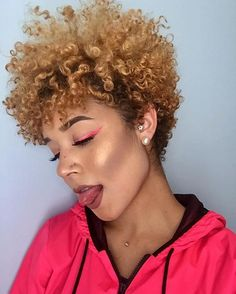 """1,701 Likes, 14 Comments - Natural Hair Does Care, LLC (@naturalhairdoescare) on Instagram: """"We get all our tapered fro #hairspiration from @dennydaily #naturalhairdoescare…"""""""