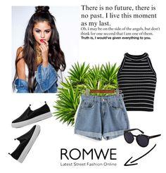 """""""Romwe 8/XI"""" by nermina-okanovic ❤ liked on Polyvore featuring romwe"""