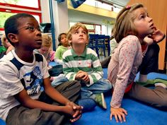 Make mindfulness a part of classroom learning by integrating it into curriculum-themed activities through exercises in breathing, sensory experience, guided imagery, and movement. Mindfulness In Schools, Teaching Mindfulness, Mindfulness For Kids, Mindfulness Activities, Mindfulness Quotes, Mindfulness Meditation, Social Emotional Learning, Social Skills, Social Work