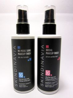No more shine makeup finish spray