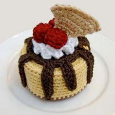 Sundae ohlala Cheesecake amigurumi pattern