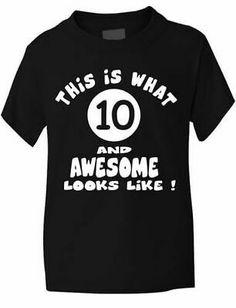 Birthday Girl Age 6 Six  Girls Kids T-Shirt In Glitter Birthday Gift  Age 1-13