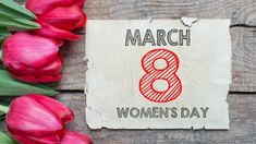 Women's Day, March 8, 4K