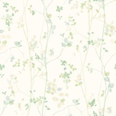 Eco Wallpaper Spring Twig Green Wallpaper main image