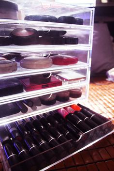 Make-up Storage - Really need this after all the make-up shopping I've done !