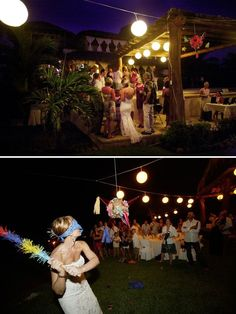i definitely wnat a pinata on our wedding!