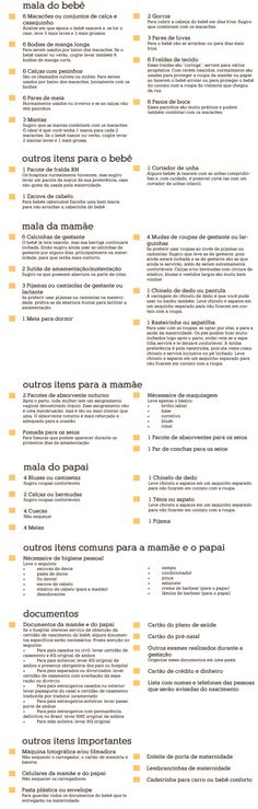 Checklist | Mala da maternidade | 4 MAMMIES Baby Olivia, Baby List, Baby Bedroom, Doula, Baby Hacks, Baby Bumps, Baby Essentials, Pregnancy Tips, First Time Moms