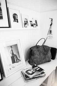 the black n white | HarperandHarley
