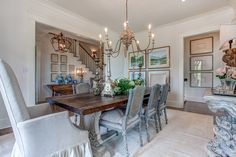 Designed by Providence Design Little Rock, Arkansas - Southern Living Design House Le Ranch, Southern Living Homes, Layout, Country Farmhouse Decor, Home Decor Styles, Interiores Design, Decoration, Decorating Your Home, Decorating Ideas