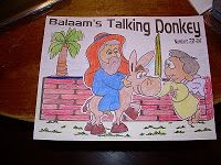 Hands On Bible Teacher: Wednesday's Explorer Journal Activity Balaam and the Talking Donkey