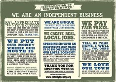 The Dandy Lion Boutique: Support Small Business Saturday Buy Local, Shop Local, Independent Business, Support Local Business, Small Business Saturday, Lokal, Fix You, Business Quotes, Business Ideas
