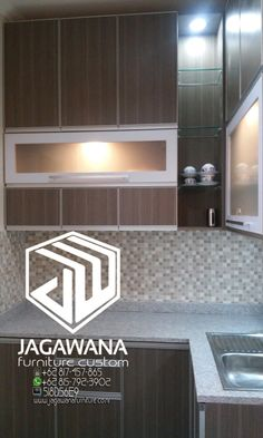 Harga kitchen set minimalis sendiri terdiri dari berbagai for Desain kitchen set