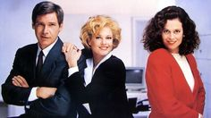 Working Girl (1988) Directed by Mike Nichols. With Melanie Griffith, Harrison Ford, Sigourney Weaver, Alec Baldwin and Joan Cusack.