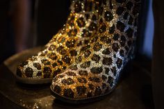Safari 5050 boot encrusted with Swarovski pave crystals. @Gilt.com.com.com #5050bootcamp #20yearsof5050