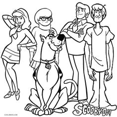 Scooby Doo Coloring Pages, Birthday Coloring Pages, Halloween Coloring Pages, Cartoon Coloring Pages, Disney Coloring Pages, Coloring Pages To Print, Coloring Book Pages, Printable Coloring Pages, Coloring Pages For Kids