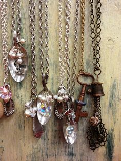 Repurposed Silverware Jewelry | ... Spoon Jewelry by Kristin Girard {at Repurpose Boutique} | Repurpose