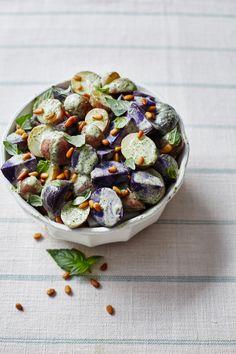 Arugula, Fig & Bleu Cheese Salad
