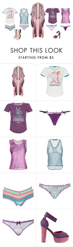"""""""Candy Coated Cavalli"""" by mskillgalore on Polyvore featuring Roberto Cavalli, Accessorize, Topshop, Agent Provocateur, Ed Hardy and Sugarbaby"""