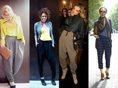 High Waist Baggy Pants Outfits