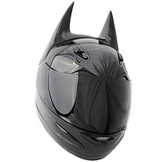 """Dark As Night"" BATMAN-Inspired Motorcycle Helmet"
