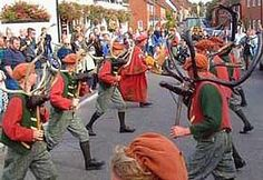 Abbots Bromley horn dance is a 800 year old tradition.
