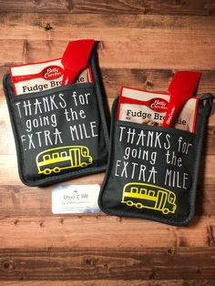 Pot Holder Bus Driver Gift - Thanks for Going the Extra Mile (Potholder Only) Bus Driver Appreciation, Employee Appreciation Gifts, Volunteer Appreciation, Diy Valentines Gifts For Him, Gifts For Coworkers, Pot Holder Crafts, Pot Holders, Cute Gifts, Best Gifts