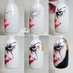Halloween nails bloody fake nails scary nails fall fake nails press on nails nails for halloween 59 Almond Acrylic Nails, Summer Acrylic Nails, Halloween Nail Designs, Halloween Nail Art, Fall Halloween, Bling Wedding Nails, Holloween Nails, Scary Nails, Gel Nagel Design