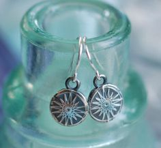 the north star wax seal drop earrings in eco by suegrayjewelry, $38.00