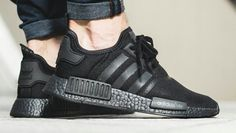 new products 3a9a1 66275 We are running a GIVEAWAY for the adidas NMD R1 Triple Black in our live  stream · Fashion MenNew York ...