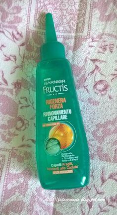 Garnier Fructis-Lozione Rigenera Forza #garnierfructis #garnier #fructis #lozionencticaduta #cadutadeicapelli #hairloss #review #fataarancio