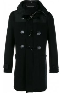 fac39cfb34c Manteaux d hiver homme - Givenchy Hooded Duffle Coat Givenchy