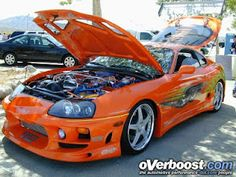 1995 Toyota Supra Turbo- Fast and Furious