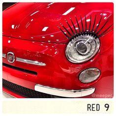 "5ooblog | FIAT 5oo: New Fiat 500 ""eyelash"""