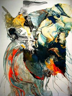 Some really amazing abstracts from an artist in Bali, Indonesia.  really freaking brilliant movement!