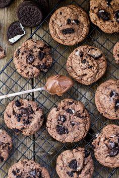 Nutella Oreo Cookies -- SugarSpunRun