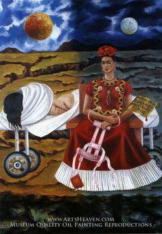 Tree of Hope by Frida Kahlo