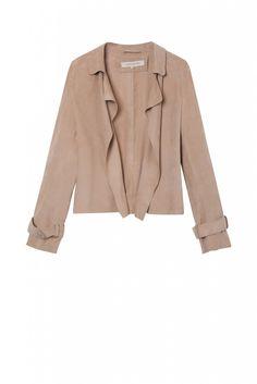 Jacket dove, acerola | gerard darel
