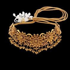 Gold Wedding Jewelry, Bridal Jewelry Sets, Bridal Necklace, Indian Gold Jewelry, Gold Choker Necklace, India Jewelry, Gold Necklaces, Necklace Set, Antique Jewelry