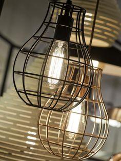 It's About RoMi Hanglamp Pittsburgh Koper Draadijzer - Design meubelen & verlichting   Altijd SALE   Korting vanaf 2 stuks   Zuiver