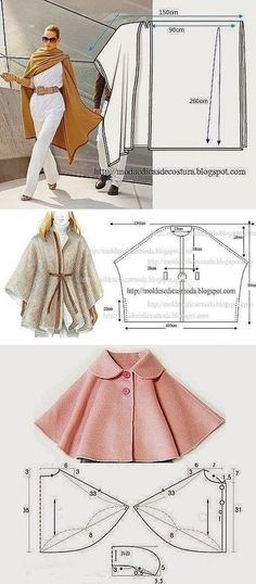 Amazing Sewing Patterns Clone Your Clothes Ideas. Enchanting Sewing Patterns Clone Your Clothes Ideas. Sewing Dress, Dress Sewing Patterns, Sewing Clothes, Clothing Patterns, Fashion Sewing, Diy Fashion, Fashion Ideas, Sewing Hacks, Sewing Tutorials