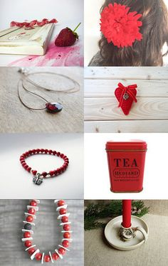 Red by Giada Cortellini on Etsy--Pinned with TreasuryPin.com