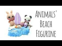 [Tuto Fimo] Animaux à la plage