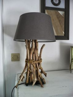 23 of our favorite Ikea Hack projects: #DIY Driftwood Lamp