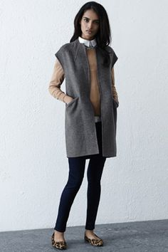 Sleeveless Wool Coat - Warehouse A/W Collection