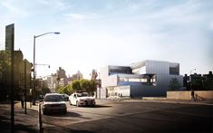 BIG Designs Bronx Station for New York Police Department,© BIG