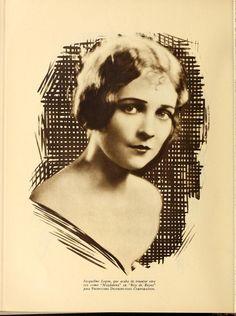 1927:  Jacqueline Logan - Cine-Mundial (Aug 1927)