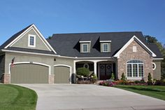 Traditional Exterior - Front Elevation Plan #51-436 - Houseplans.com