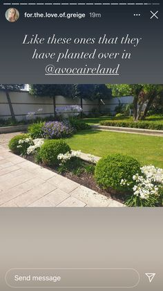 Send Message, Sidewalk, Garden, Plants, Garten, Side Walkway, Lawn And Garden, Walkway, Gardens